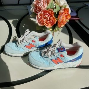 New Balance 999 Light Blue Sneaker